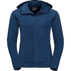 Jack Wolfskin Arco Veste Femme, midnight blue stripes